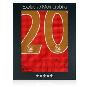 Man Utd Legends shirt in gift box