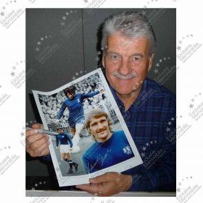 Charlie Cooke Signed Chelsea Photo Framed