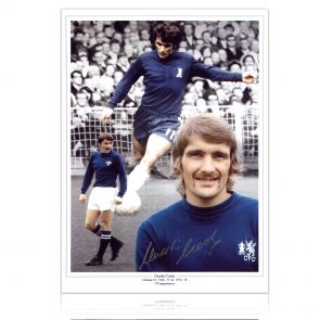 Charlie Cooke Autographed Chelsea Photo