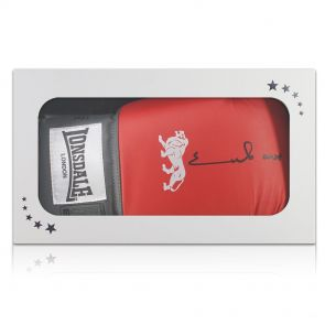 Signed Chris Eubank Boxing Glove In Gift Box