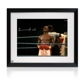 Framed Chris Eubank Signed Photo