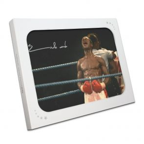 Chris Eubank Signed Photo In Gift Box
