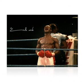 Chris Eubank Signed Photo