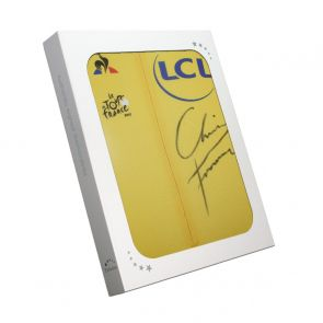 Chris Froome Signed Tour De France 2017 Yellow Jersey. In Gift Box