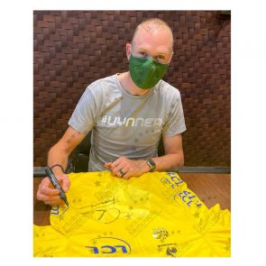Chris Froome Signed Tour De France 2013 Yellow Jersey