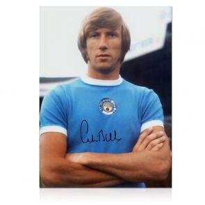 Colin Bell Signed Manchester City Photo