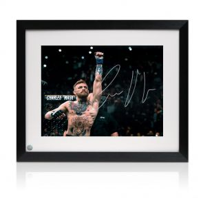 Framed Conor McGregor Signed Photo: UFC 194