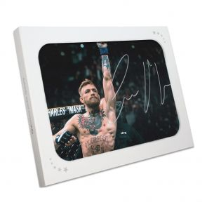 Conor McGregor Signed Photo: UFC 194 In Gift Box