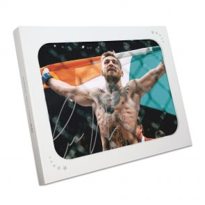 Conor McGregor Signed Photo: UFC 194 Victory In Gift Box