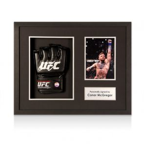 Conor McGregor Signed UFC Glove Framed