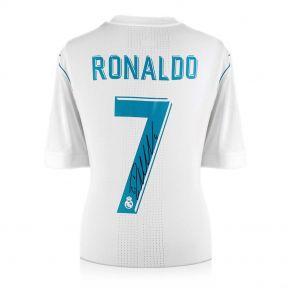 Cristiano Ronaldo Signed 2017-18 Real Madrid Authentic Football Shirt