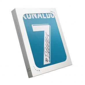 Cristiano Ronaldo Signed 2017-18 Real Madrid Away Football Shirt In Gift Box