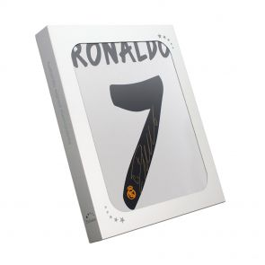 Cristiano Ronaldo Signed Real Madrid Shirt In Gift Box