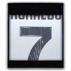 Cristiano Ronaldo Signed Juventus Football Shirt