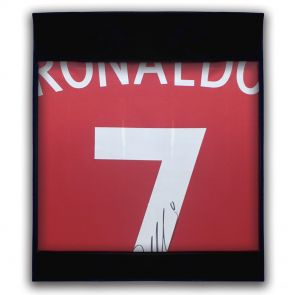 Smudged Stock - Cristiano Ronaldo Signed Portugal Euro 2016 Shirt