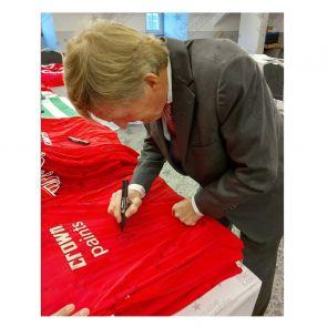 Kenny Dalglish And Kevin Keegan Signed Liverpool Shirts. Dual Frame