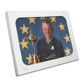 Darren Clarke Signed Photograph: 2016 Ryder Cup Captain. In Gift Box