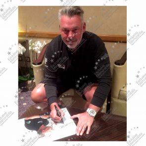 Darren Clarke Signed Photograph: Open Champion
