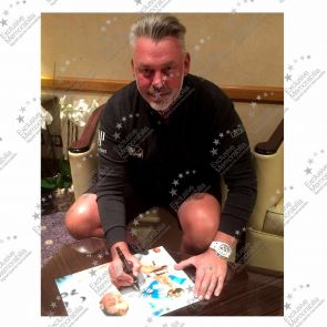 Darren Clarke Signed Framed Photograph: Ryder Cup Hero