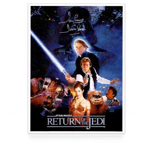 Signed Return Of The Jedi Poster