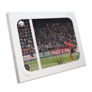 David Silva Signed Spain Photo: Euro 2012. In Gift Box