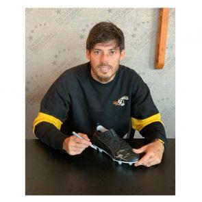 David Silva Signed Football Boot. In Gift Box