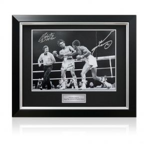 Deluxe framed Duran Leonard photo