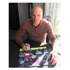 Dennis Bergkamp Signed Holland Photo: The Argentina Goal