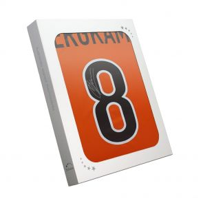 Dennis Bergkamp Signed Holland Shirt In Gift Box