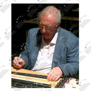 Steve Davis And Dennis Taylor Signed Snooker Cue. Damaged A