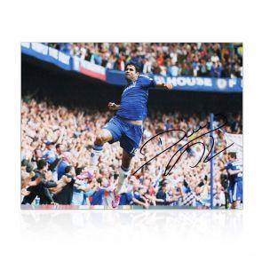 Signed Diego Costa Photo