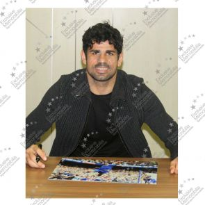 Diego Costa Signed Chelsea Photo: Goal!