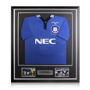 Duncan Ferguson Signed Everton Shirt