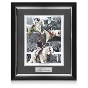 Signed And Framed Richard Dunwoody Grand National Photo
