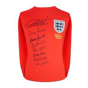 Signed England 1966 Team Shirt