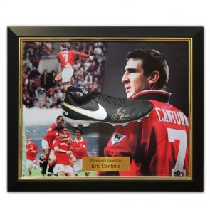 Eric Cantona Signed Nike Tiempo Football Boot