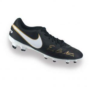 Eric Cantona Signed Nike Tiempo Football Boot