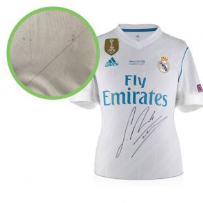 Sergio Ramos Signed Real Madrid Shirt
