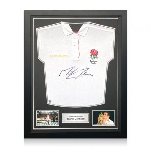 Signed Martin Johnson Shirt