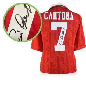 Eric Cantona Signed Manchester United 1994 FA Cup Final Shirt