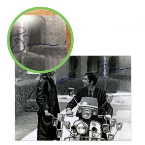 Quadrophenia Dual Signed Photo: Jimmy And Steph. Damaged A
