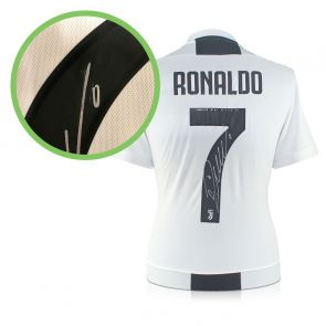 Cristiano Ronaldo Signed Juventus Football Shirt