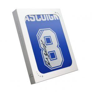 Paul Gascoigne Signed Rangers Shirt. In Gift Box