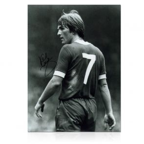 Kenny Dalglish Signed Liverpool Photo: The King's Debut