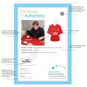 Kenny Dalglish Signed Liverpool Football Shirt