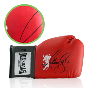 Signed Anthony Joshua Boxing Glove