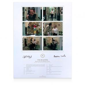 John Cleese And Andrew Sachs Signed Fawlty Towers Print
