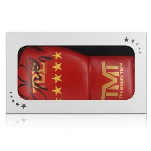 Floyd Mayweather Signed Boxing Glove In Gift Box