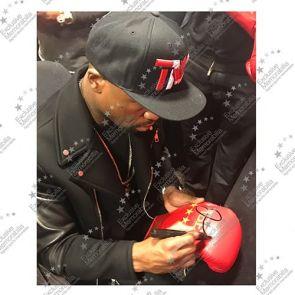 Floyd Mayweather Signed TMT Boxing Glove