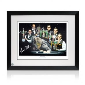 Signed and framed Ronnie O'Sullivan Photo